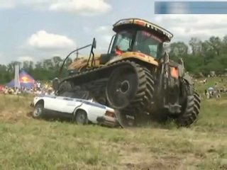 клип про трактор - 13