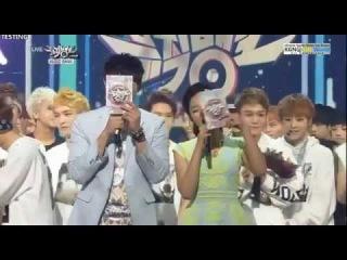 130614  EXO - Wolf + Win + Encore #EXO1stWin [Music Bank]