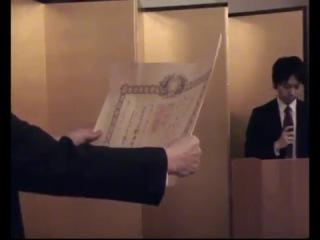 Награждение режиссера Александра Сокурова японским Орденом Восходящего солнца (золотые лучи с розеткой)