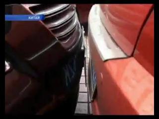 Китайские водители демонстрируют чудеса паркования