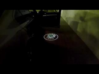 Лазерный проектор логотипа авто