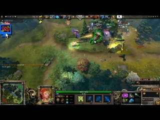 IG.ChuaN Pro Enchantress Gameplay Dota 2 vs. NaVi