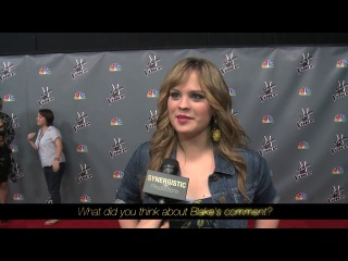 Holly tucker - done & grandpa's visit - the voice s4 top 8