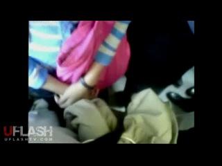 Dickflash grope on bus 2