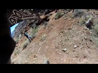 Cam Zink's Massive 360 Step-Down POV - Red Bull Rampage 2014!