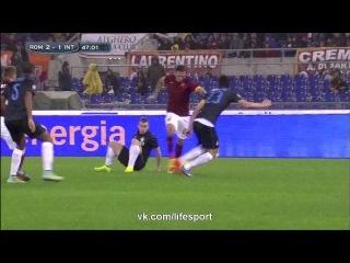 Рома 4:2 Интер | Итальянская Серия А 2014/15 | 13-й тур | Обзор матча