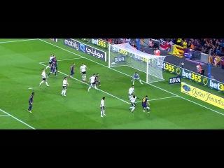 Lionel Messi V.s Valencia - HD - (2 - 9 - 2012)