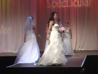 Wedding Dress Fashion Show featured at The Bridal Spectacular
