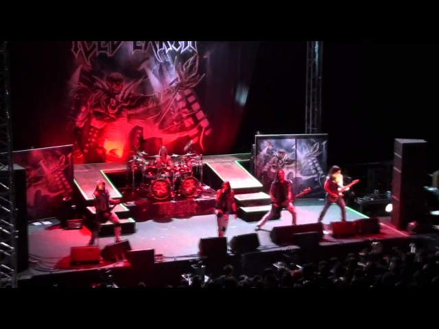 Iced Earth at ancient Curium theater Cyprus SETIAN MASSACRE 19 8 2012