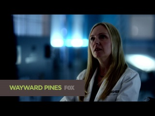 Четвёртый сник-пик седьмой серии второго сезона сериала Wayward Pines (Уэйуорд Пайнс / Сосны)