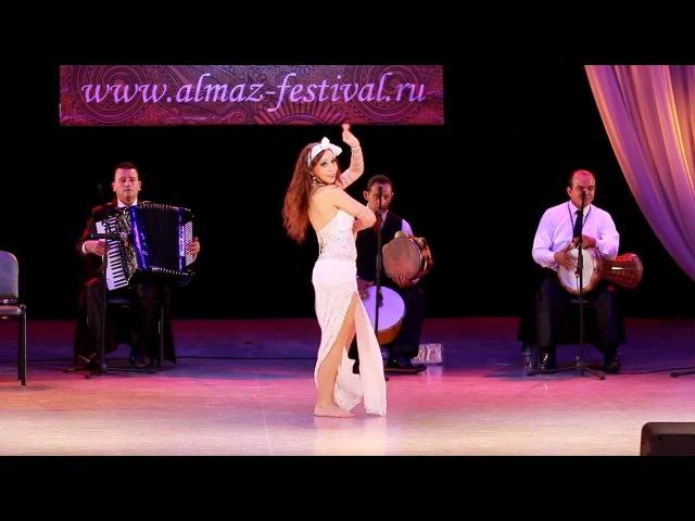 Diana Ra - BALADI IMPROVISATION (1 Place) @ II Almaz Festival 2014