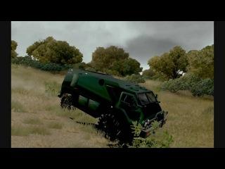 ctraxx test GAZ-3937 «Vodnik» ARMY [TDU-MODS]