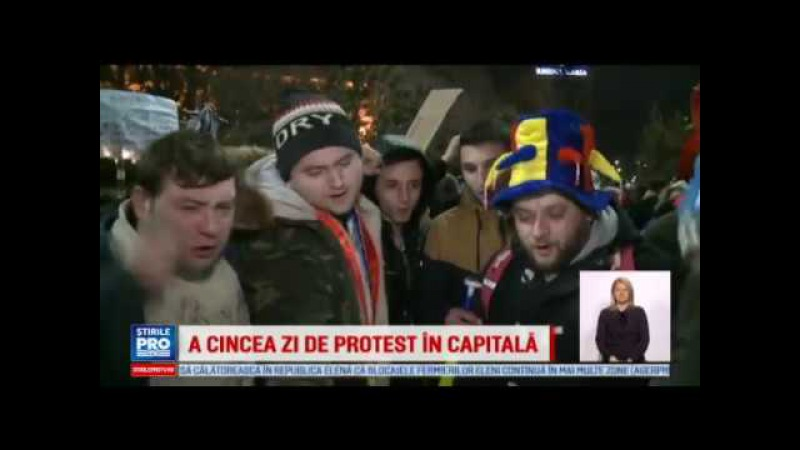 Am facut istorie N am iesit degeaba Manifestatie cu 170000 de oameni in Capitala ProTV