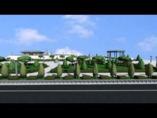 благоустройство территории площади 400-летия Тюмени