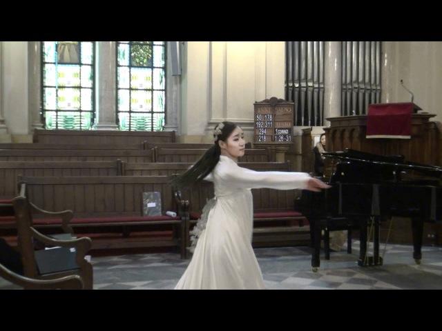 한국무용 워십찬양 오라 조수아 유선영 로마연합교회