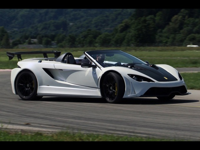 Tushek Renovatio T500: Slovenia s first supercar tested