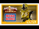 Видео обзор Power Rangers Super Samurai Могучие Рейнджеры Супер Самураи MEGA BLOKS 5805
