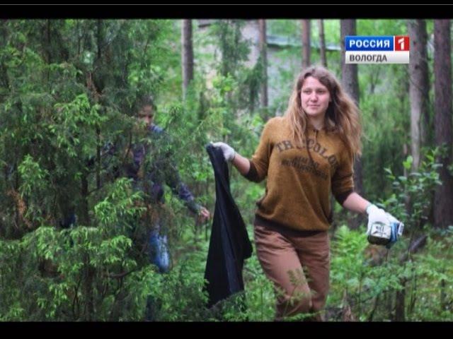 Активистка из Кадуя превратила субботник в квест