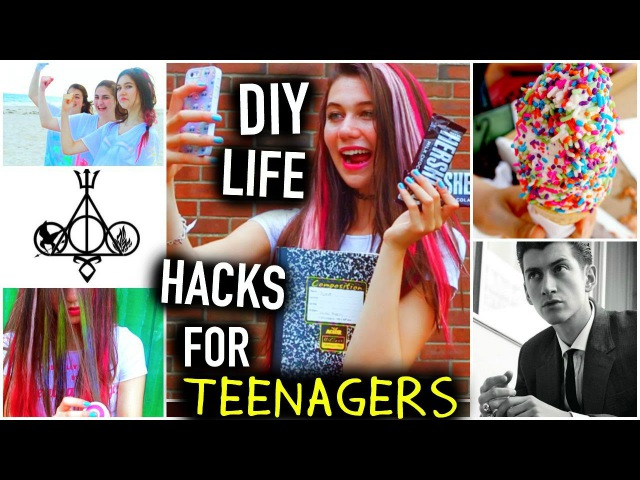 DIY Life Hacks for Teenagers Things to do Food You NEED to Know!