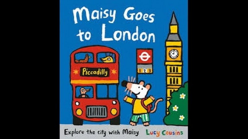 Maisy goes to London by Lucy Cousins Read by SUPER BooKBoY