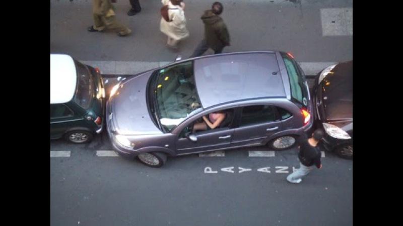 Подборка виртуозы парковки как надо парковаться