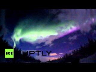 Stunning video: Aurora Borealis lights up northwest Russia