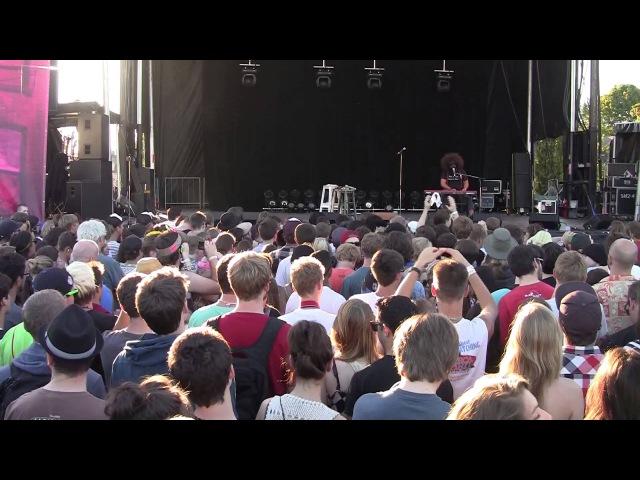 Reggie Watts 45min of Brilliance at Rifflandia 2012 HD