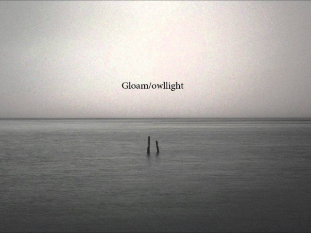 A Quiet Town Gloam owllight