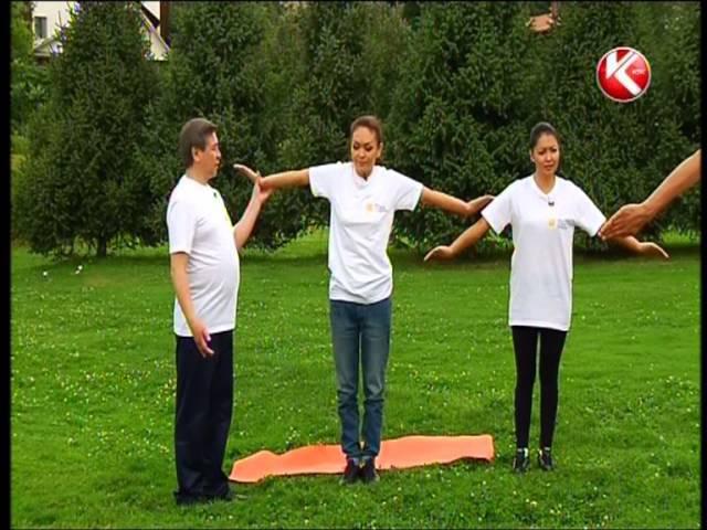 Упражнение Адай из комплекса АЙКУНЕ с Алибеком Альмадиевым