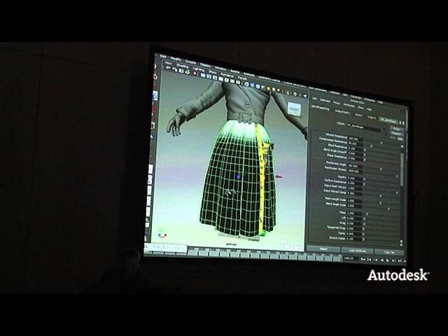 AUR 2012 Анимация одежды в сериале Мульт личности