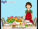 I Dont Like Salad - Learn English for Kids Song by Little Fox