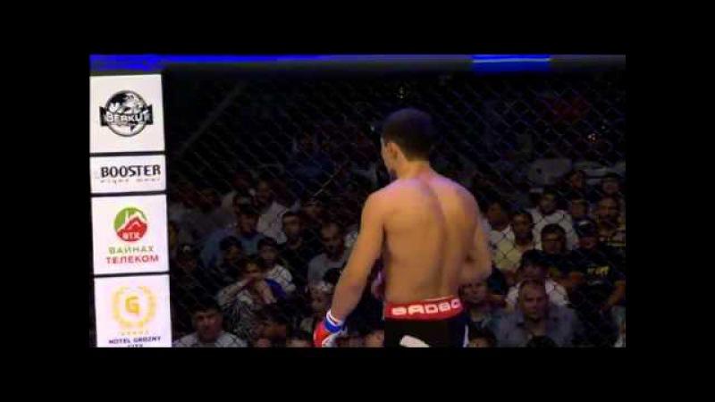 Timofey Nastyukhin(black-red shorts) vs Said-Hamzat Avkhadov