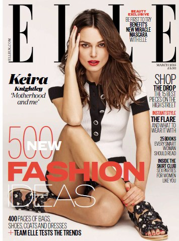 Elle March 2015 UK