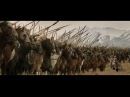 LOTR Gandalf vs Witch King /T heoden speech / Charge of Rohirrim