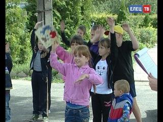 Спорт для самых маленьких: в Центре соцзащиты населения Ельца добровольцы провели день здоровья