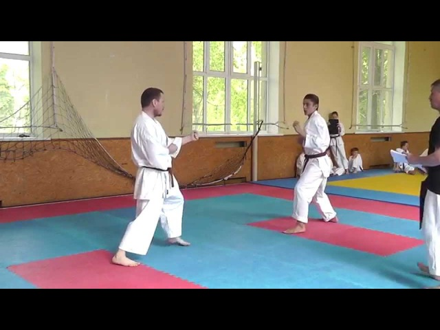 Аттестация по Каратэномичи 17 Мая 2015 2 Attestation of Karatenomichi on May 17 2015 Part 2