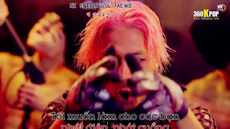 Vietsub Kara MV BIGBANG BANG BANG BANG VIPTeam