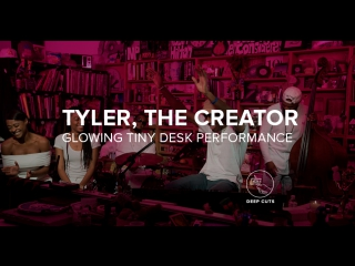 Tyler, the Creator's Glowing Tiny Desk Performance