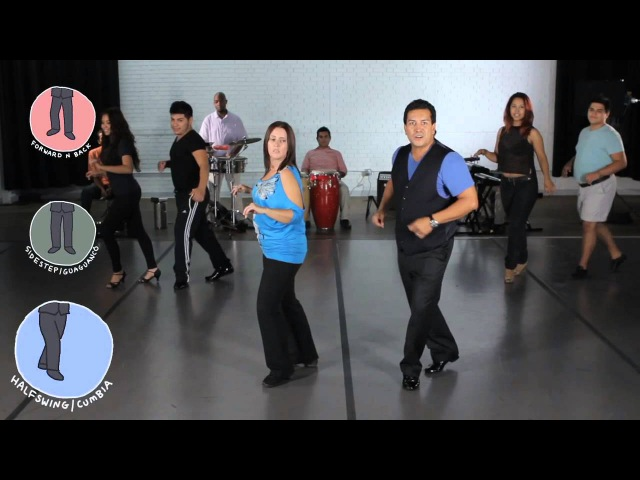 Five ish Minute Dance Lesson Salsa Level 1