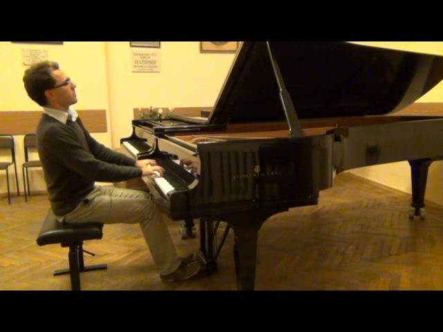 Mozart, sonate F dur 12, K. 332, 1st mv. / Моцарт, соната № 12, Фа-мажор, К. 332 1 ч.
