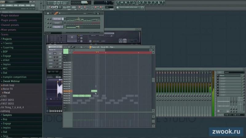 Работа с семплами в FL Studio Запись вебинара от школы Tramplin