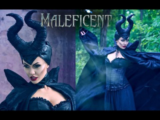 Maleficent Make Up Tutorial - Charakteryzacja na Diabolinę