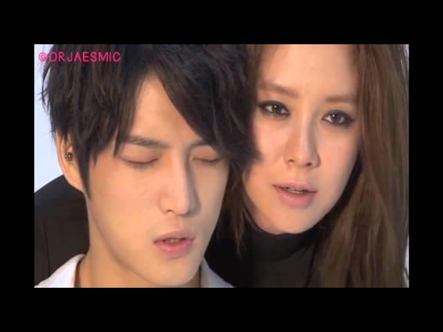 JYJ Jaejoong Song Ji Hyo: Jackal making cut - poster photoshoot