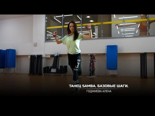 Танец Samba Базовые шаги Годжиева Алена