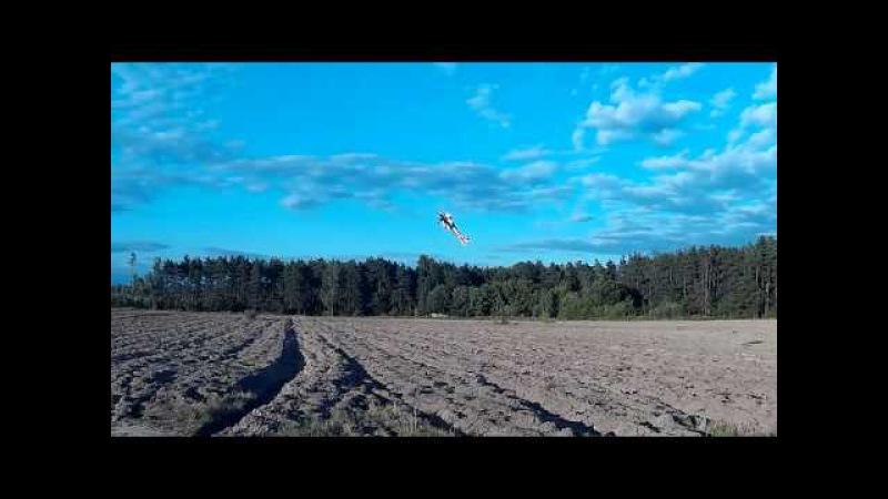 Полеты дача Самолет sebart sebach 30e