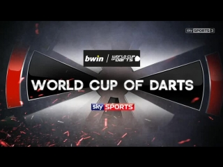 England vs Japan (PDC World Cup of Darts 2015 / Second Round)