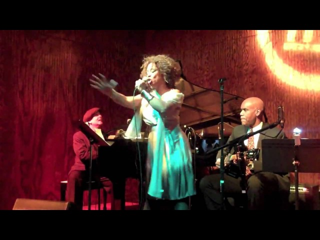 Eve Cornelious performs live for Richmond Jazz Society Guest Educators Series