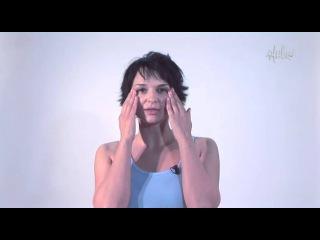 """Как убрать """"гусиные лапки"""" Фитнес для лица. Алёна Россошинская. Телеканал ЖИВИ!"""