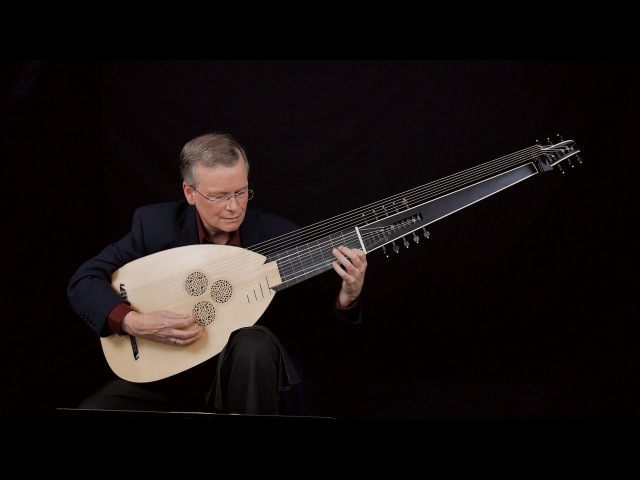 J S Bach Prelude in C Minor pour le luth BWV 999 David Tayler archlute