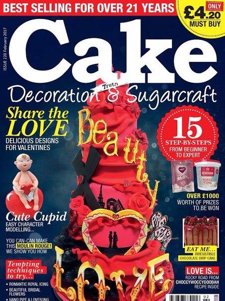 Cake Decoration Sugarcraft February 2017